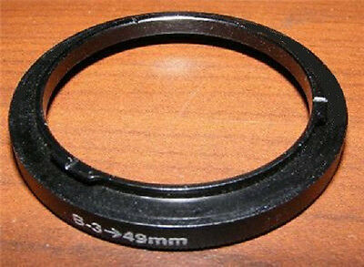 Bay 3 III to 49mm Filter Adapter for Rollei Yashica