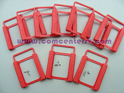 10pcs Plastic Bracket tray for ssd 2.5 to 3.5 Caddy Adaptor Mounting 10pcs/lot