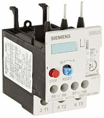 SIEMENS 3RU1126-1GB0 Overload Relay for mounting on Contactor 4, 5-6, 3A