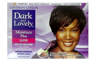 Dark and Lovely - Relaxer / Glättungscreme Moisture Plus SUPER