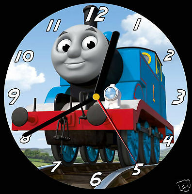 Thomas the Tank Engine CD Clock, can be personalised