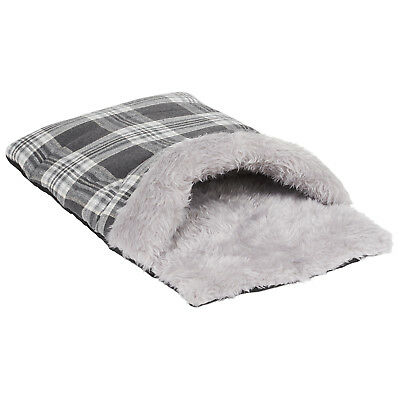 Me & My Pets Cat/kitten Small Dog/puppy Snug Grey Pouch Bed Sleeping Bag/cave