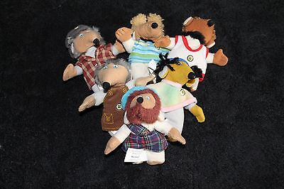 Mcdonalds Wombles X 6. Very Good Condition