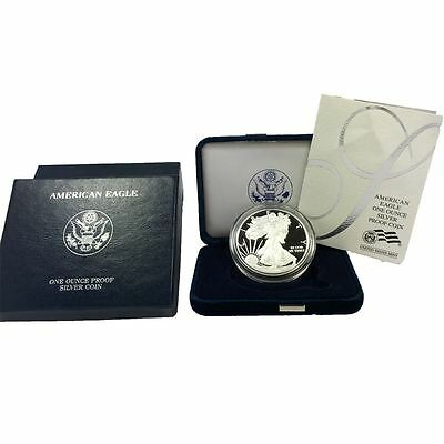 2007 American Silver Eagle Proof with Original Box and COA