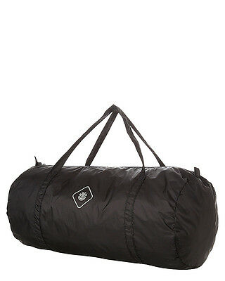 New Element Men's Travel Well Duffle Bag Polyester Luggage Black