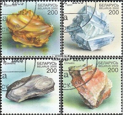 Belarus 388-391 fine used / cancelled 2000 Minerals