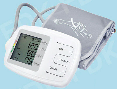 EastShore C12BVL arm blood pressure monitor talking English XL LG CUFF 8.7-19 IN