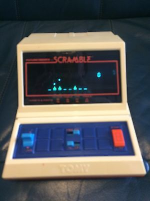 Vintage 1982 SCRAMBLE LSI Tabletop/handheld TOMY Game