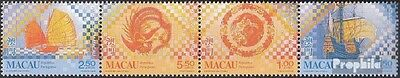 Macao 997-1000 quad strip mint never hinged mnh 1998 tiles in Macao