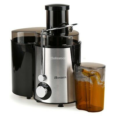 Homdox Home Fruit Juicer Juice Extractor  Automatic Electric Two Speed Switch