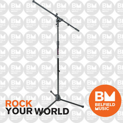 OnStage MS7701B Microphone Adjustable Euro-Boom Mic Stand On-Stage MS-7701B