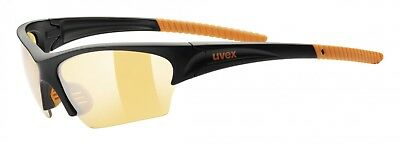 Uvex Sunsation Sportbrille - black orange