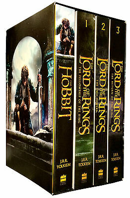 Lord Of The Rings The Hobbit 4 Books Collection Box Set J. R. R. Tolkien