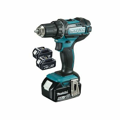 MAKITA - Visseuse-perceuse 18V 13mm 1x DC18RC + 3x BL1840B Makpac