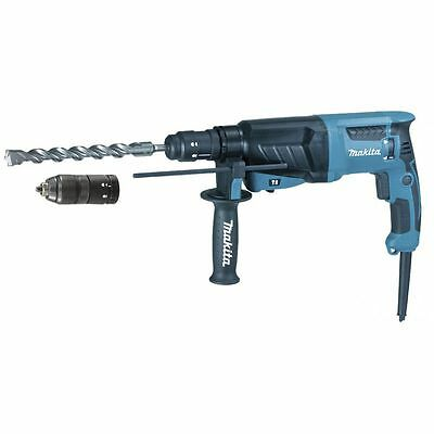 MAKITA - Marteau perforateur-burineur SDS-PLUS 800W 26mm en coffret + set de mec
