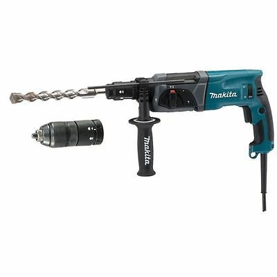 MAKITA - Marteau perforateur-burineur SDS-PLUS LED 780W 24mm + mandrin automatiq