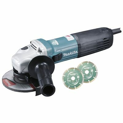 MAKITA - Meuleuse angulaire 1400W 125mm vitesse variable, SJSII, anti'redemarrag