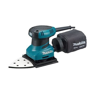 MAKITA - Ponceuse de paume 200W 112 x 190 mm (velcro) + pointe triangulaire