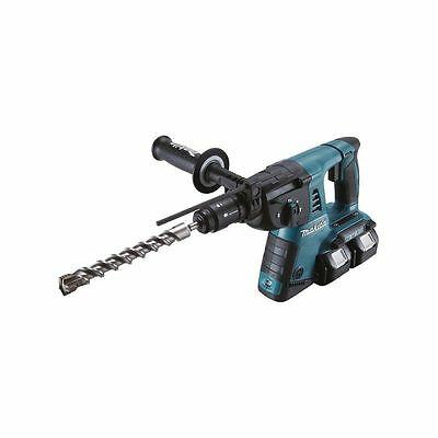 MAKITA - Marteau perforateur SDS-PLUS 2x18V 16mm + 1 un mandrin auto avec 2 x BL