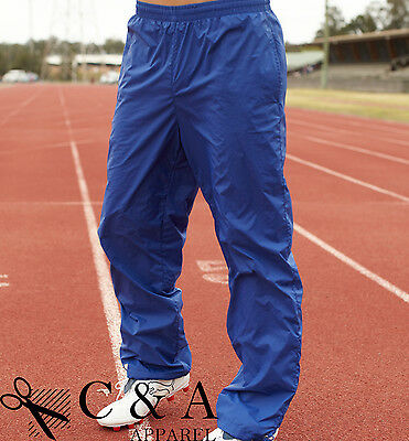 New Adults Mens Ladies Sport Training Track Pants with toggles at Ankle Section