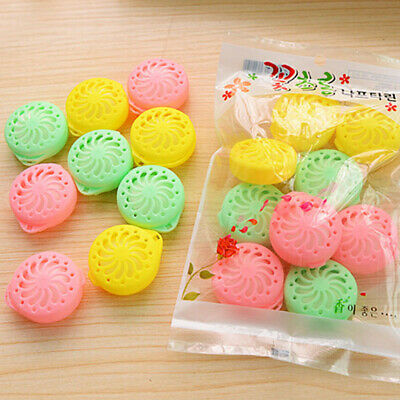 9PCS Wardrobes Drawers Closet Fragrant Cedar Moth Balls Camphor Bug Repellent