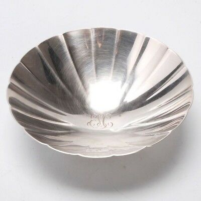 Vintage Tiffany & Co. Sterling Silver Footed Bowl