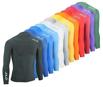 SUB COLD Kids Compression Top, L/S Thermal Baselayer - boys skin sports shirt