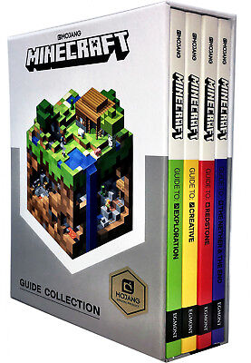 Minecraft The Complete Handbook 4 Book Box Set Collection Latest Updated Edition