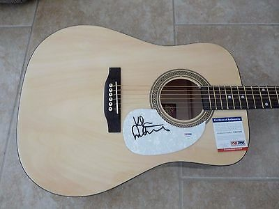 Kiefer Sutherland Sexy IP Signed Autographed Country Music Guitar PSA Certified