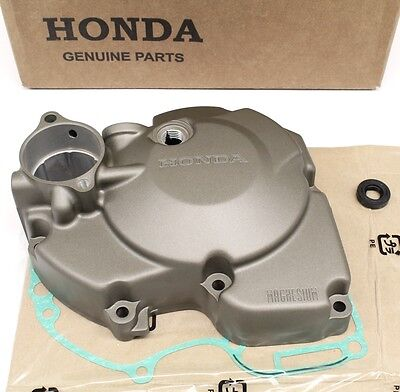 Left Engine Stator Magneto Cover Kit 04-08 CRF250 R and X w/ Gasket Seal #B31