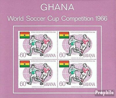 Ghana block22 (complete.issue.) unmounted mint / never hinged 1966 Football-WM,