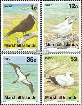 Marshall-Islands 381-384 (complete.issue.) unmounted mint / never hinged 1991 Bi