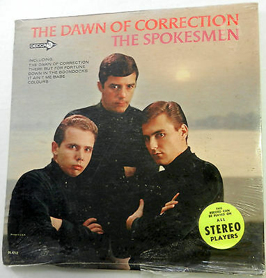 The SPOKESMEN The Dawn of correction LP  SEALED Decca