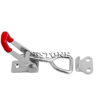 New Quick Toggle Clamp 100Kg 220Lbs Holding Capacity Latch Metal Hand Tool 4001