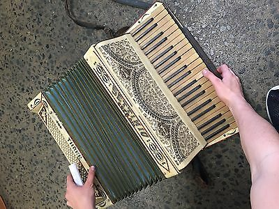 Accordian. Made in Italy. Antique. Works well