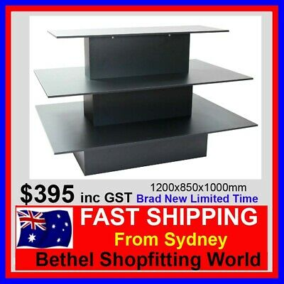 3 Tier DisplayTable- Perfect For Any Retail Store 1200x850x1000mm Brand New!