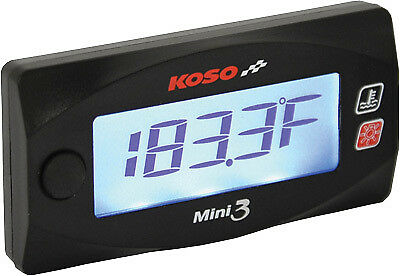 Koso North America Cylinder Head Temperature Gauge Motorcycle Electrical 48-2308
