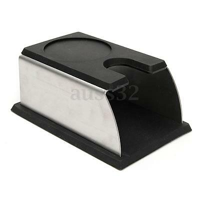 Coffee Tamper Holder Stand Rack Tool Accessory Barista Tamping Station