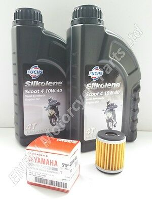 Yamaha Yp125R Xmax Genuine Service Kit Oil & Oil Filter  *new*