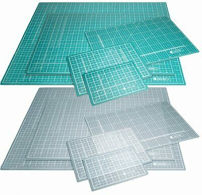 A3 Green Self Healing Cutting Mat  - Double Sided cm mm inch Imperial Metric