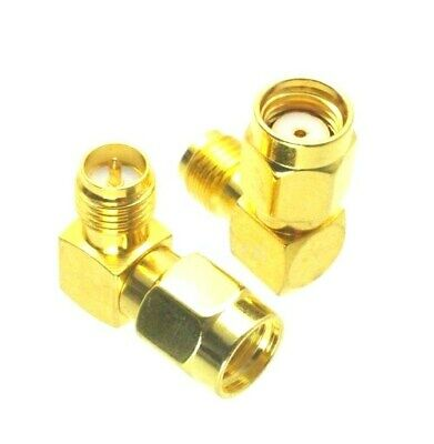 RP-SMA Female to RP-SMA Male Right Angle connector adaptor F00401K