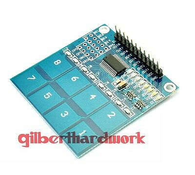 TTP226 XD-49 8 digital touch sensor module capacitive touch switch