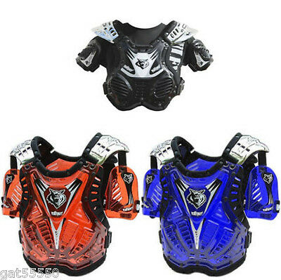 New Wulfsport Kids Body Armour Stone Deflector Tabard Up To 8 Years Old Child