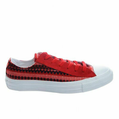 Converse Chuck Taylor CT All Star Blanket Ox Canvas Mens Trainers Red  139827F P1 d4d4e82f0