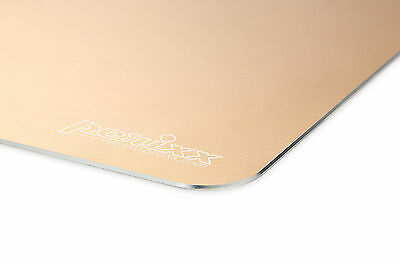 Perixx DX-3000M GD, Gaming Aluminium Mauspad/Mouse Pad  - Anti-Rutsch - Gold