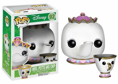 Funko Pop Disney Beauty And The Beast Mrs. Potts & Chip Vinyl Toy Action Figures