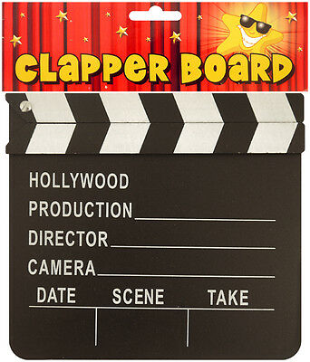Wooden clapper board film making PROP Party accessory T.V film for Hollywood
