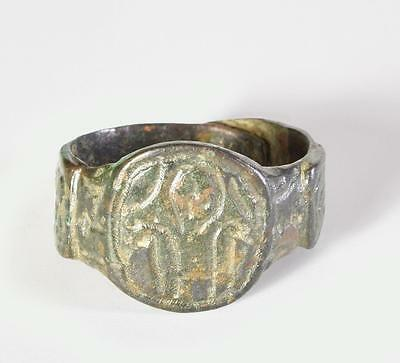 Byzantine wearable ring with Christ.