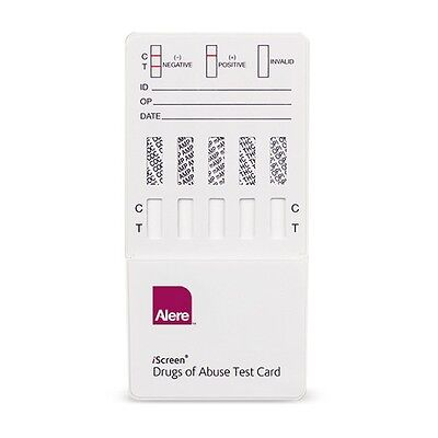 (20) Pack of 5 Panel Drug Test Strips - For 5 Drugs Home & Work - Free Shipping