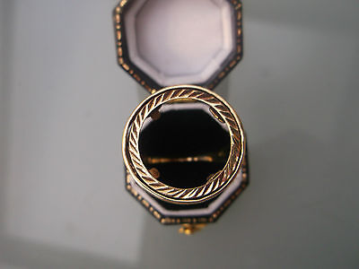 Half-Sovereign 9ct Gold Ring Men's/Women's Ring NO COIN W4g Size W Stamped